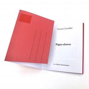 Nouvelle de Vincent Cuvellier, Papa-Clown disponible chez les Éditions pneumatiques