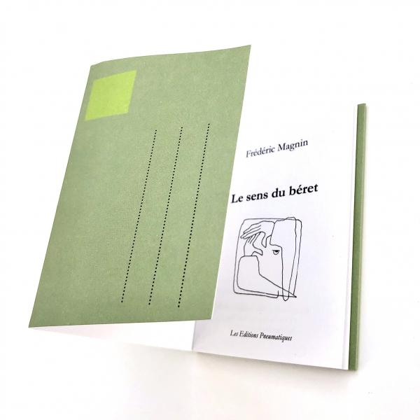 Nouvelle postale par Frédéric Magnin, Le sens du béret, Éditions pneumatiques