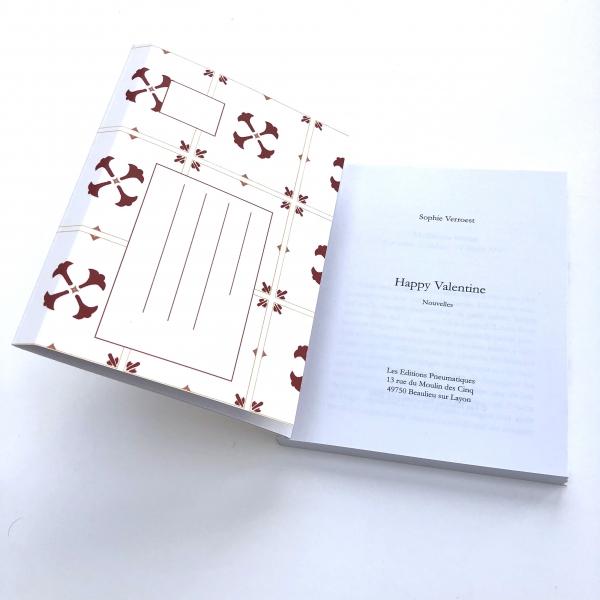 Recueil de nouvelles de Sophie Verroest, Happy Valentine, disponible chez les Éditions pneumatiques